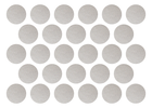 złote srebrne naklejki grochy kropki 2cm do 4cm  (5)