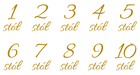 naklejka numeracja numer stołu stolik wesele (3)