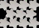 złote srebrne naklejki gwiazdki 2cm do 6cm  (4)