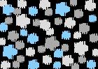 szary 071- jasny szary 072 - pastelowy niebieski 056