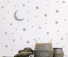 naklejki gwiazdki 62szt 3cm 5cm 6cm 7cm księżyc (1)