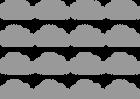 naklejki chmurki skandynawskie 12cm 16szt KOLORY (2)