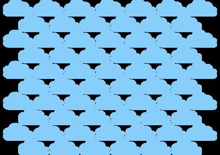 naklejki chmurki skandynawskie 6cm 65szt (1)